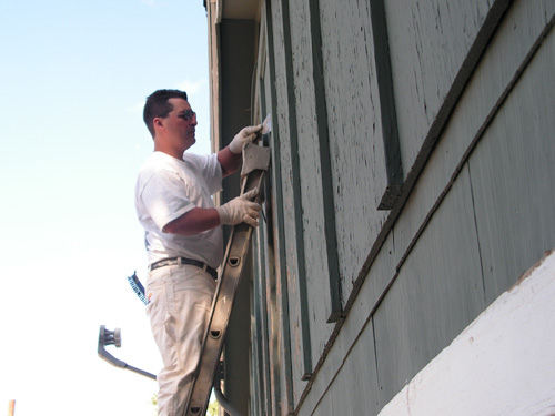 A.P.E. Exterior Painting Example