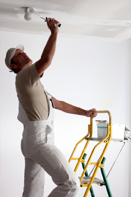 Illustration of painting contractor